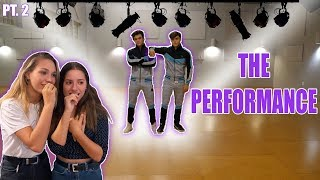 PERFORMING OUR DANCE ROUTINE! With Maddie and Kenzie Ziegler