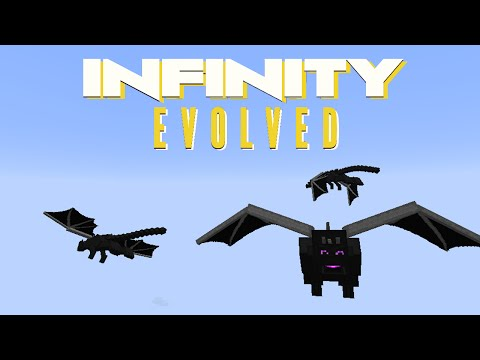 Minecraft Mods FTB Infinity Evolved - DRAGON DIMENSION [E57