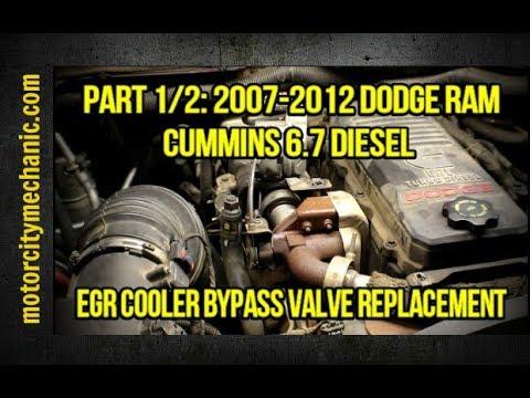 Part 1/2: 2007-2012 Dodge Ram Cummins 6.7 EGR cooler bypass valve replacement