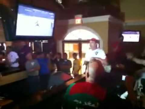 Moroccans in Virginia during the football match
