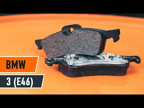 How to replace rear brake pads on BMW 3 E46 TUTORIAL | AUTODOC