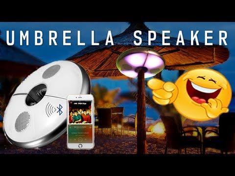 It's A Bluetooth UMBRELLA RGB LED Party Speaker - KINGSO - USA