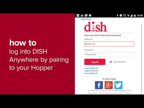 Log in to DISH Anywhere by Pairing To Your Hopper