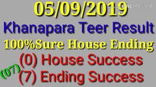 Khanapara House Ending Formula |Khanapara Teer Result update
