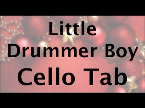 Learn Little Drummer Boy on Cello - How to Play Tutorial