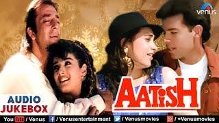 Aatish Audio Jukebox | Sanjay Dutt, Raveena Tandon, Karishma Kapoor |