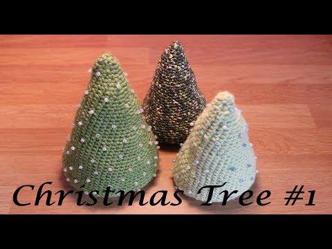 Crochet Christmas Tree #1