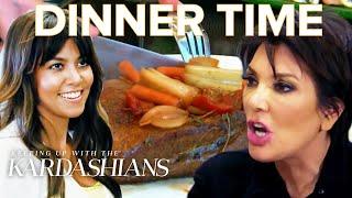 Most Awkward Kardashian Family Dinners   KUWTK   E!