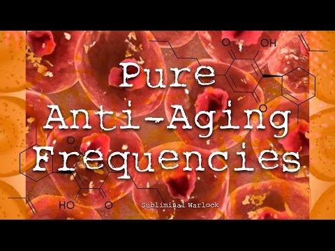 Pure Anti Aging Frequencies Subliminals Hypnosis Biokinesis Theta Waves Binaural