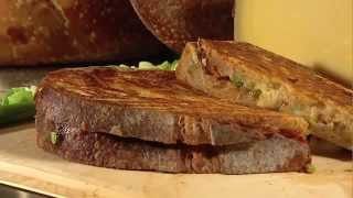 Will Studd, Australias Cheese Guru, teaches us how to make the best Toasted Cheese Sandwich