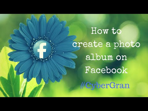 7. How to create a photo album on Facebook