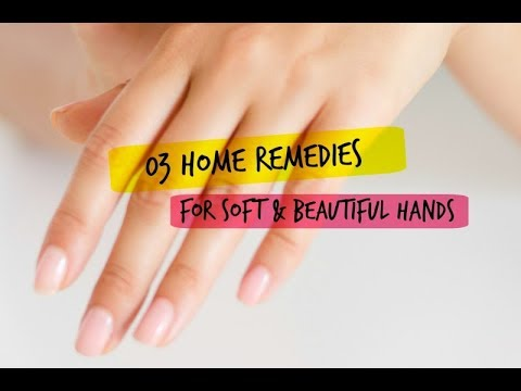 How to make rough hands soft and fair permanently | hand scrubs & masks