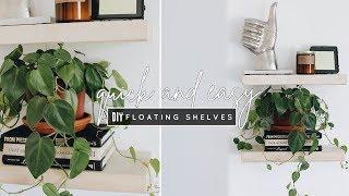 Download DIY Easy Floating Shelves Video