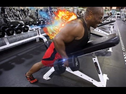 Ron's Full Back Workout - Episode #2 (Latissimus Dorsi and Rhomboid Muscles)