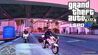 GTA 5 LSPDFR 0 3 1 - EPiSODE 112 - LET'S BE COPS - MOTORCYCLE PATROL