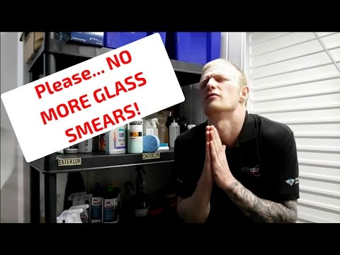 How To Clean Glass, With NO SMEARS!