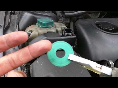 Power Steering Fluid Reservoir Leak. Free Fix