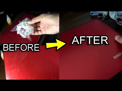 How To Remove Stickers From Laptop / Left Over Glue Easily. How To Clean Your Laptop At Home