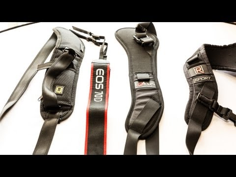 Finding the best camera strap - What to buy, what not to buy