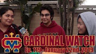 Cardinal Watch: ep. 119 - January 22nd, 2019