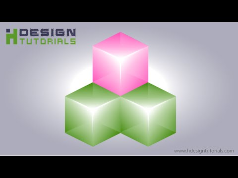 Create a glass cube in illustrator   Part 1