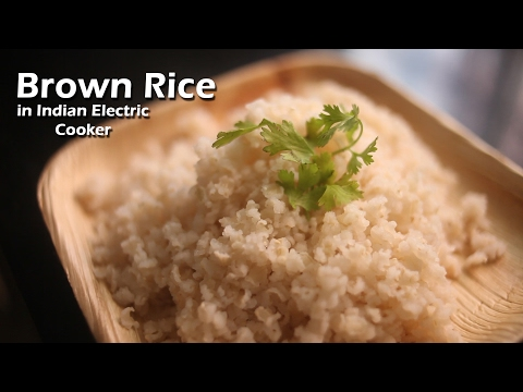 Brown Rice in Indian Rice Cooker || How to ? || Day 5 || Harshika Gudi