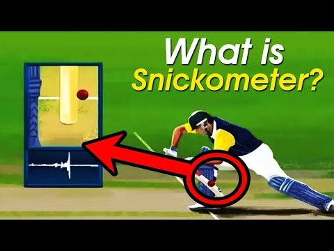 [Hindi] What is Snickometer? | Technology for Cricket 😲