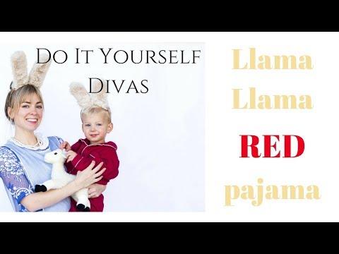 Llama Llama Red Pajama Halloween Costume For Mom and Baby