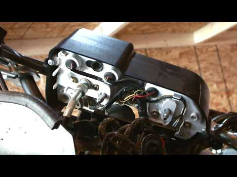 How to Remove  instrument Cluster Cover on Gen1 KLR 650