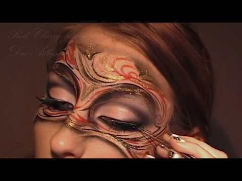 Masquerade Mask Makeup Tutorial / Art Nouveau Inspired Make-up Look