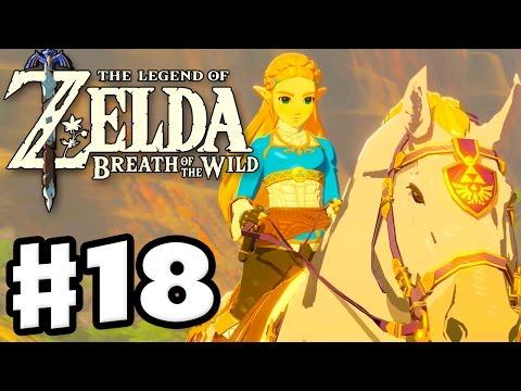 Zelda's White Horse! - The Legend of Zelda: Breath of the Wild - Gameplay Part 18