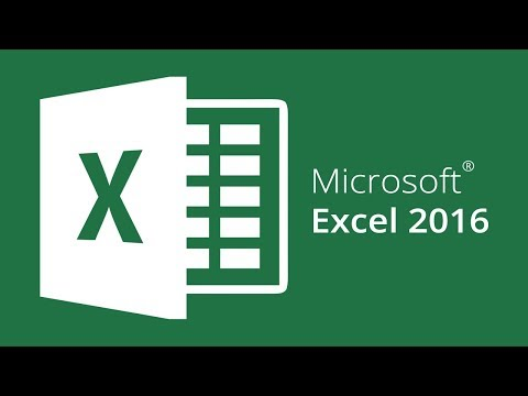 Microsoft Excel 2016: How to code in excel for the beginner.