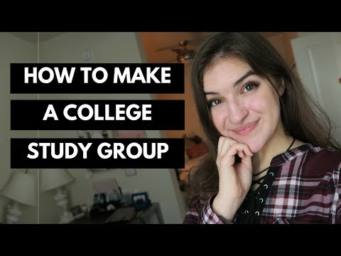 How To Make a Great College Study Group