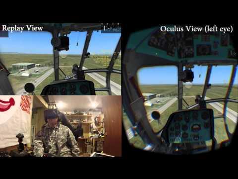 Uncle Jacko' Mi 8 Oculus Flight