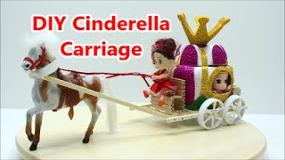 DIY Crafts Ideas Projects for Kids How to Make Plastic Bottle Cinderella Carriage