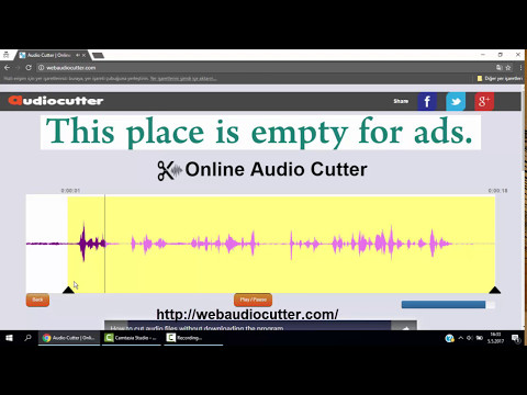 How to cut or trim audio files without itunes or play store or program