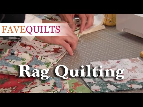 Rag Quilting Tutorial