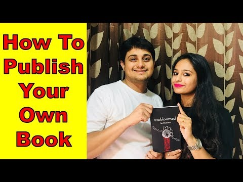 How to publish your own book | Full Process | Unbloomed | Sai Dadarkar