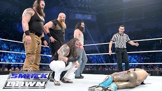 The Wyatts vs. Lucha Dragons & Prime Time Players - Survivor Series Match: SmackDown, Nov. 5, 2015