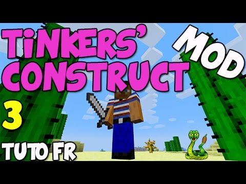 Mod Tinkers Construct 1.6.4 - Tuto FR - Une fonderie avec des Seared Bricks ! - Ep.3