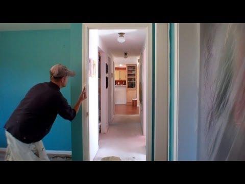 Interior Painting Step 4: Painting the Trim
