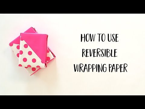 Reversible Wrapping Paper Techniques: 45 Degree Angle (Full Version)