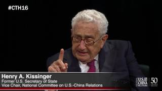 CHINA Town Hall 2016 with Dr. Henry Kissinger