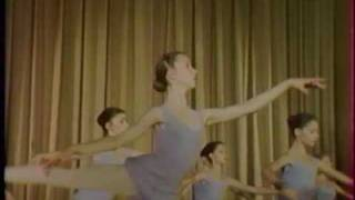 Sylvie Guillem at 14, in class