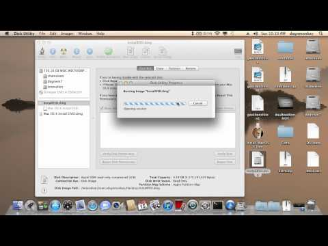 How To Burn Lion InstallESD.dmg To Bootable DVD