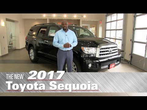 The New 2017 Toyota Sequoia Platinum - Minneapolis, St Paul, Brooklyn Center, MN - Review