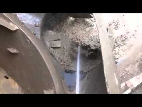 how to wash out concrete truck