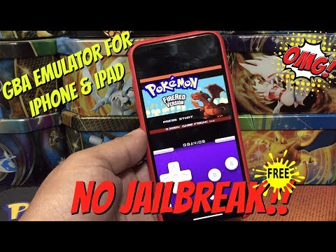 How To Play GameBoy Games On Your iphone or ipad With Emulator -  Pokemon Games