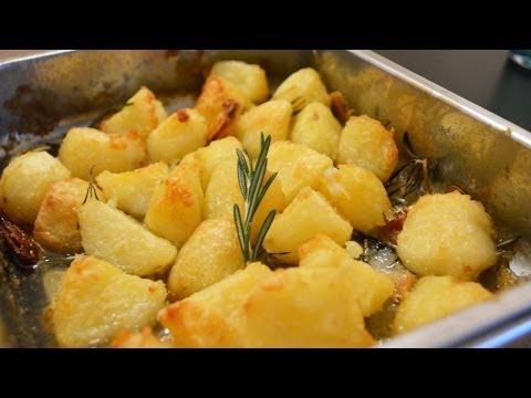 Roast Potatoes with garlic and rosemary