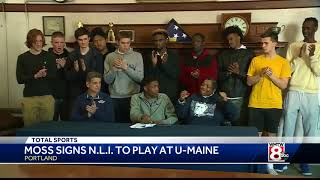 Moss Signs Nli To Play At Umaine